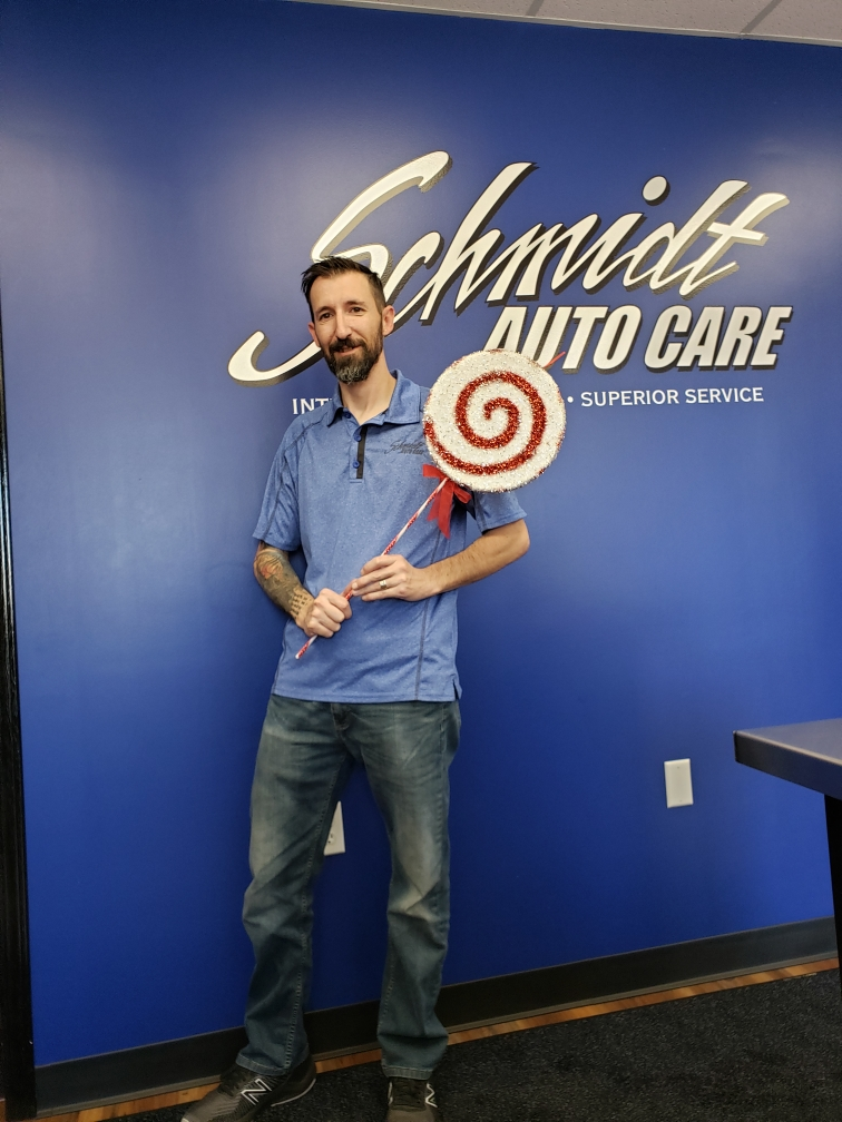 Mike Wherry At Schmidt Auto Care